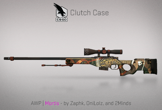 Clutch case AWP Mortis