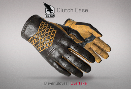 Clutch case Drive Gloves Overtake