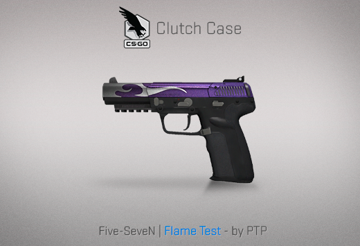Clutch case Five-seven Flame Test