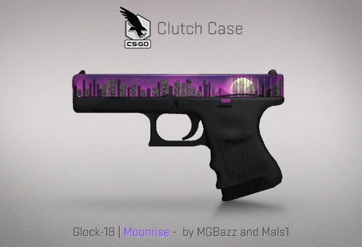 Clutch case Glock-18 Moonrise