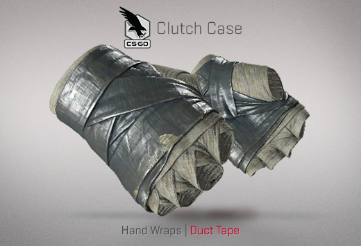 Clutch case Hand Wraps Duct Tape