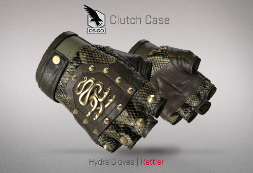 Clutch case Hydra Gloves Rattler