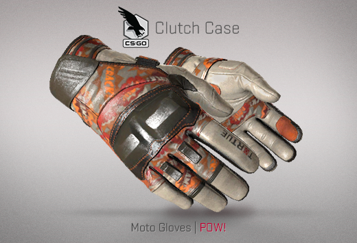 Clutch case Moto GLoves POW