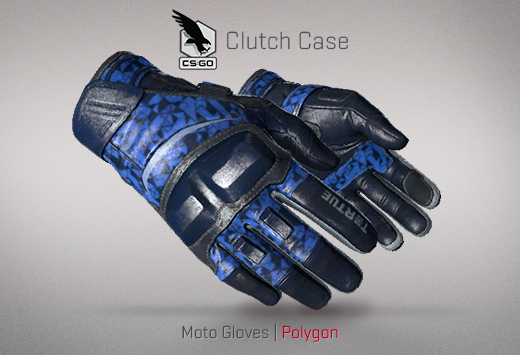 Clutch case Moto Gloves Polygon