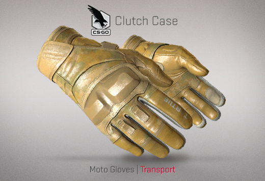 Clutch case Moto Gloves Transport