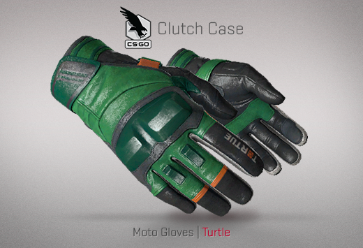 Clutch case Moto Gloves Turtle