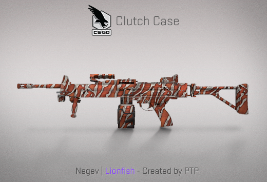 Clutch case Negev Lionfish