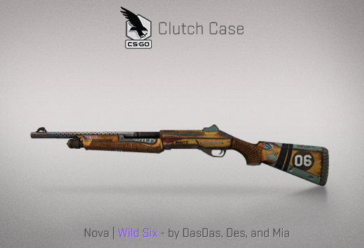 Clutch case Nova Wild Six