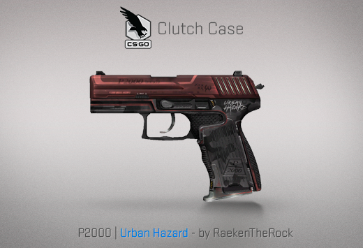 Clutch case P2000 Urban Hazard