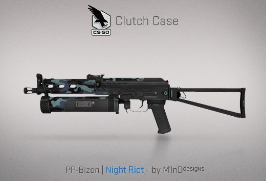 Clutch case PP-Bizon Night Riot