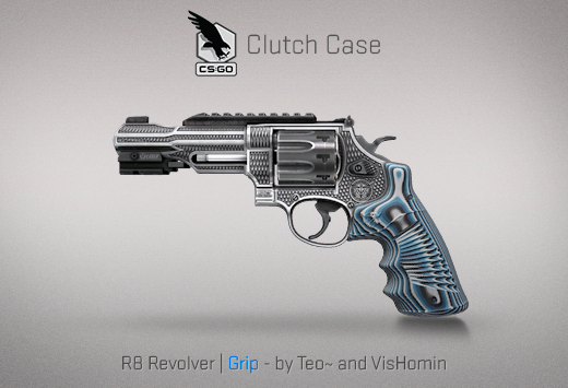 Clutch case R8 Revolver Grip