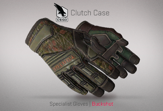 Clutch case Specialist Gloves Buckshot