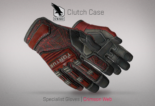 Clutch case Specialist Gloves Crimson Web