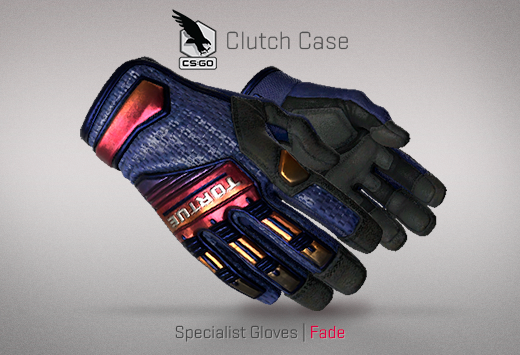 Clutch case Specialist Gloves Fade