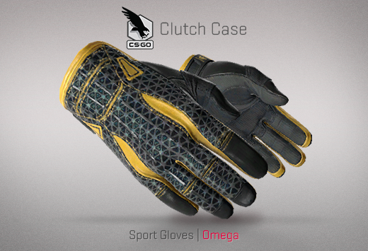 Clutch case Sports Gloves Omega