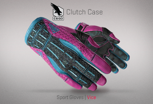 Clutch case Sports Gloves Vice