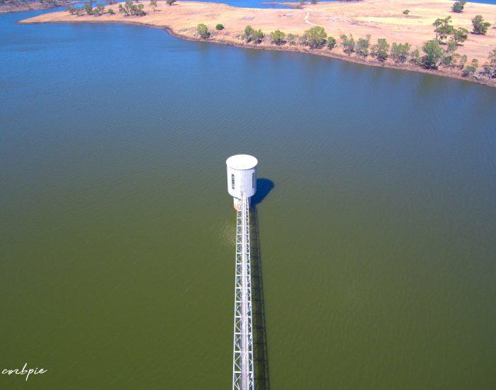 Lake Eppalock intake tower 2