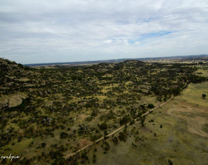 Mount Korong drone