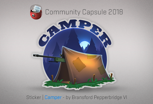 Sticker Camper
