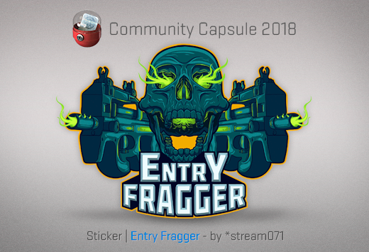 Sticker Entry Fragger