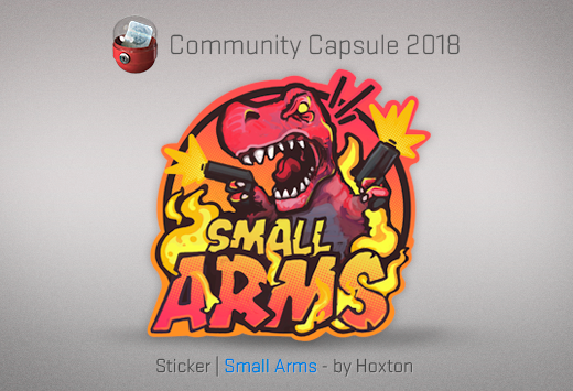 Sticker Small Arms