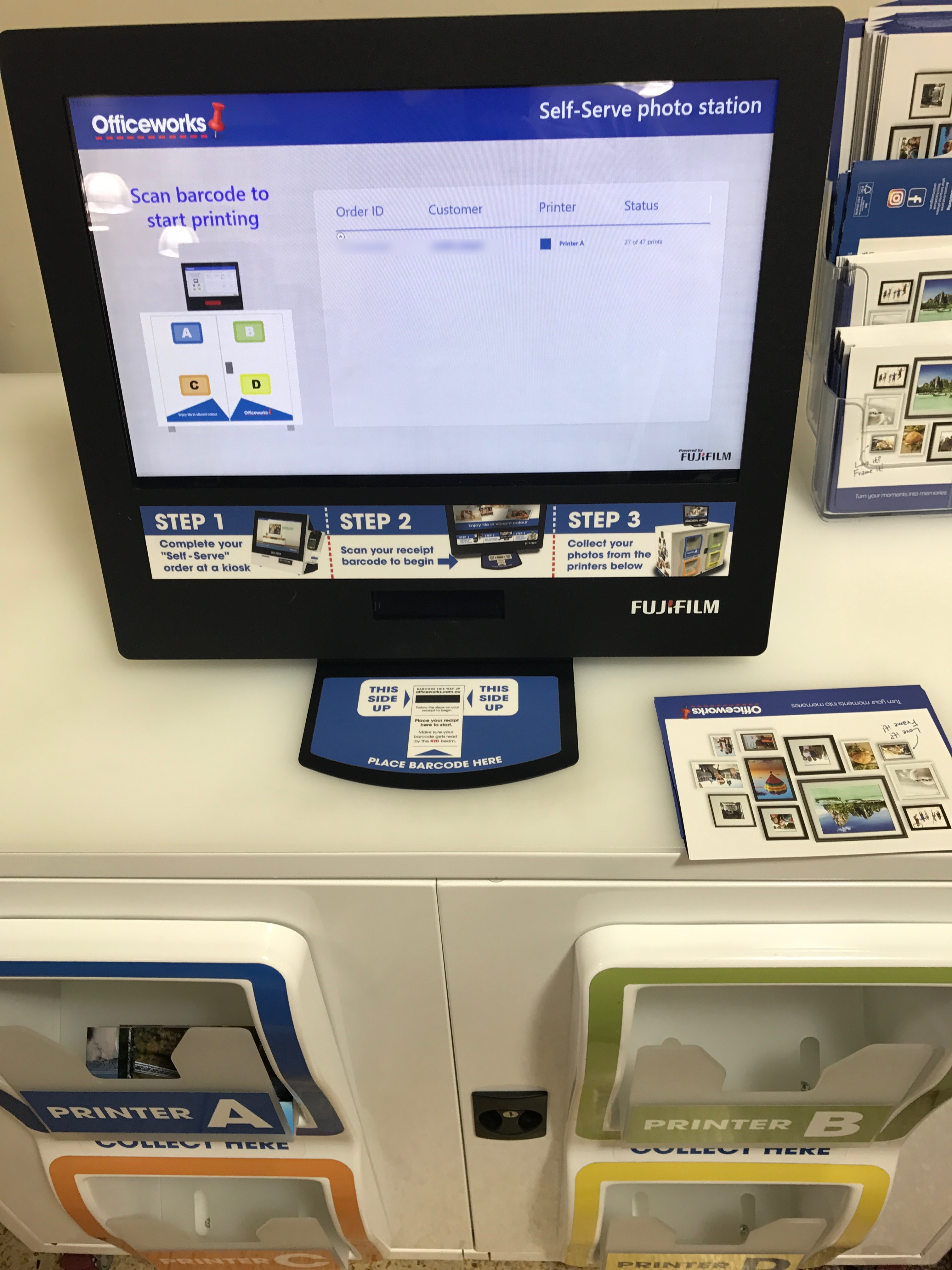 The officeworks self serve photo printing experience corbpie officeworks self serve photo printer reheart Images