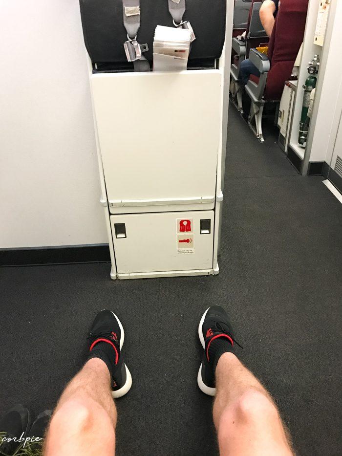 A330-200 exit row leg room 45B