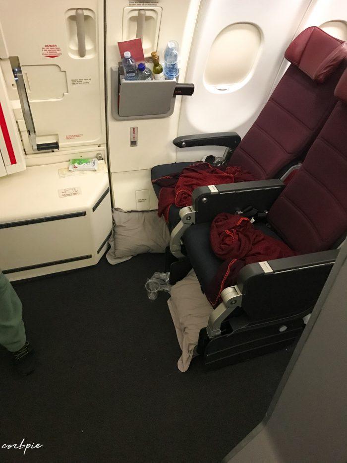 A330-300 exit row 45J 45k
