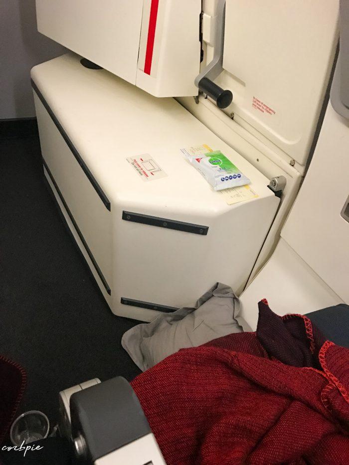 A330-300 exit row leg room 4K