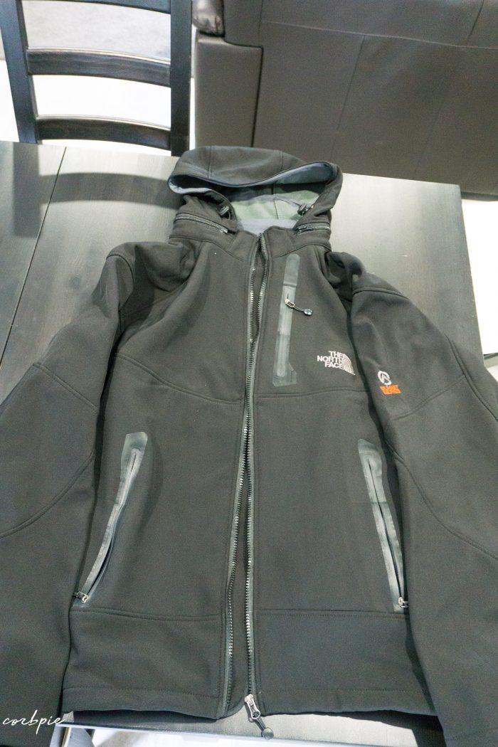 The North Face jacket China market