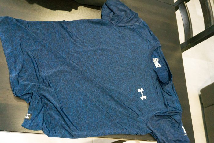 Under armour tshirt China market 2