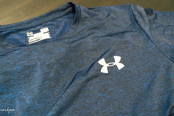 Under armour tshirt China market