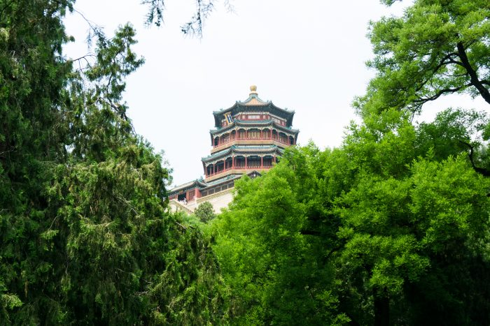 Building at the summer palace