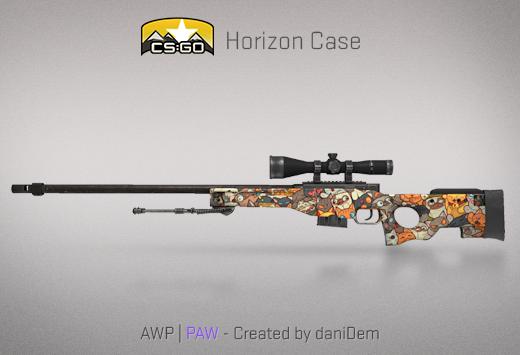 CSGO Horizon case paw