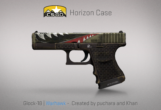 CSGO Horizon case warhawk