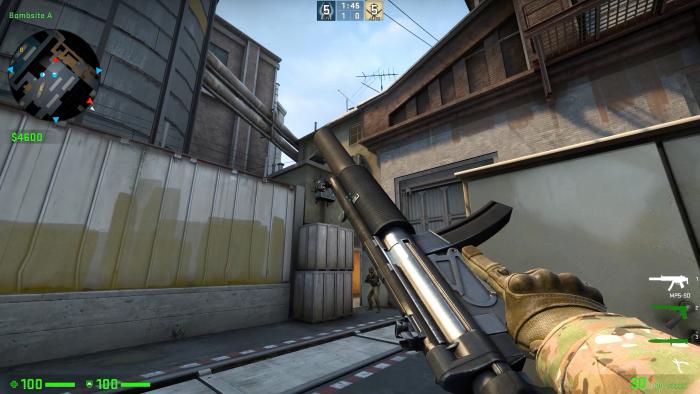CSGO MP5 SD 2