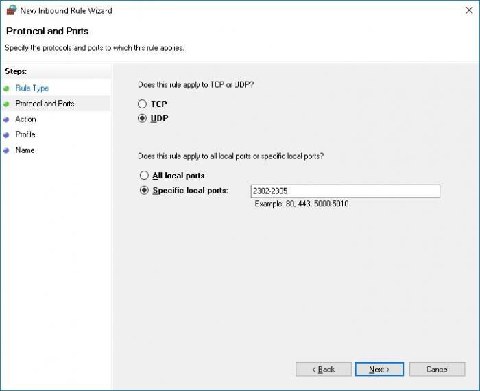 dayz server install opening ports 3 udp