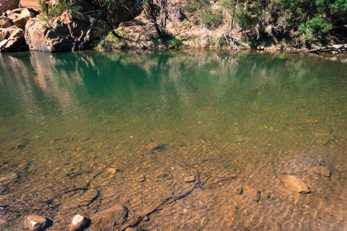 Grahams dam Lerderderg River 3