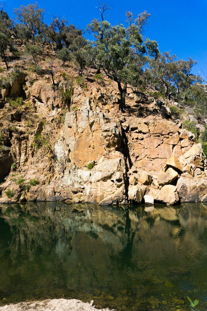 Grahams dam Lerderderg River 5
