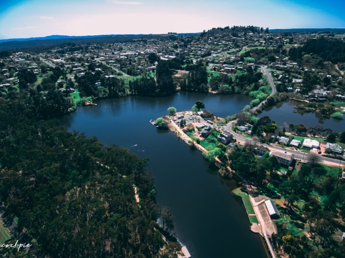 Lake Daylesford 2018 drone 3