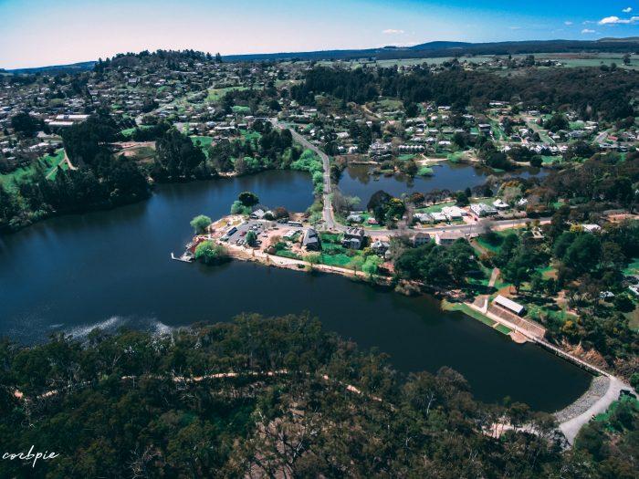 Lake Daylesford 2018 drone 4