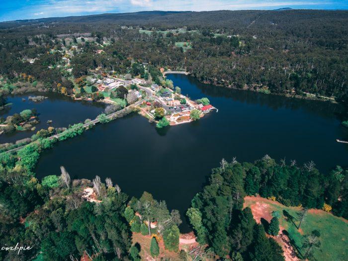 Lake Daylesford 2018 drone