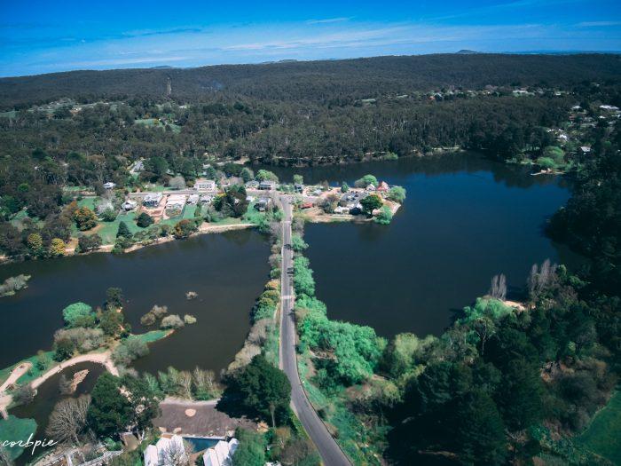 Lake Daylesford 2018 drone 8