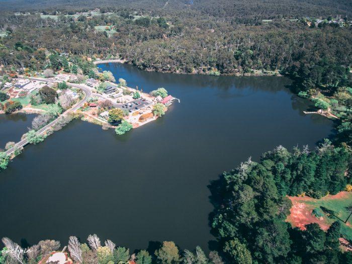 Lake Daylesford 2018 drone 9