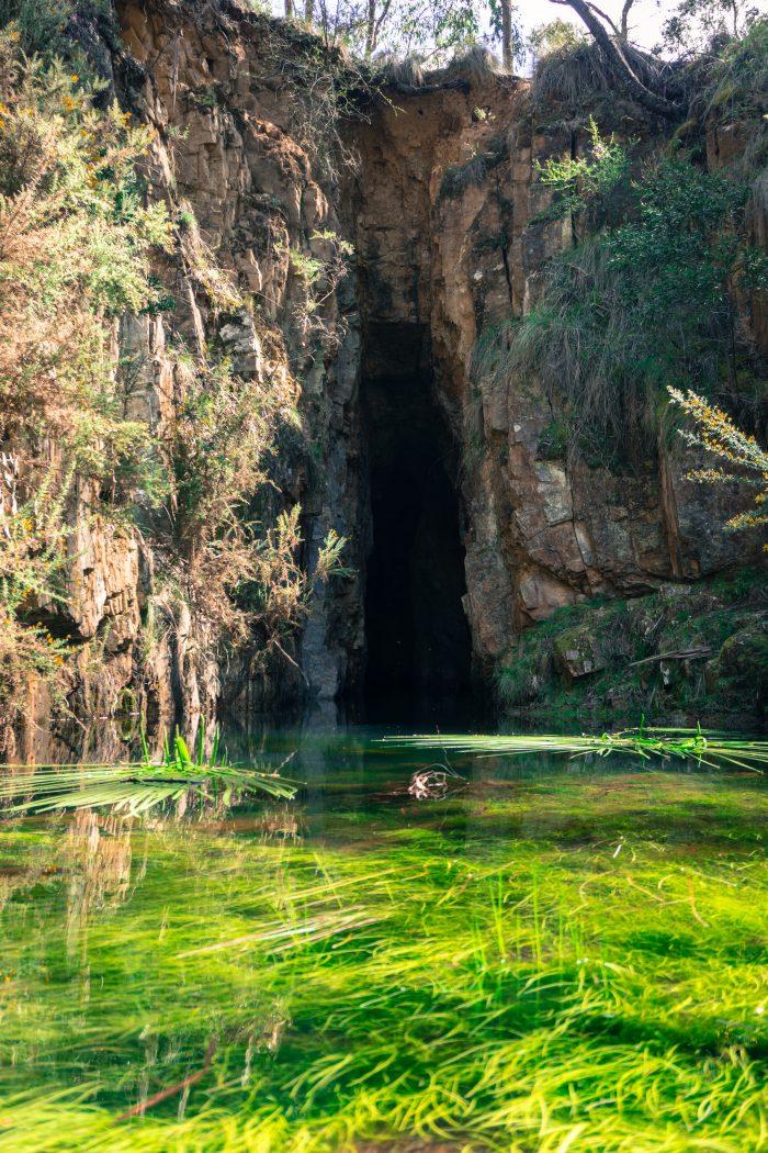 Lerderderg River tunnel 5