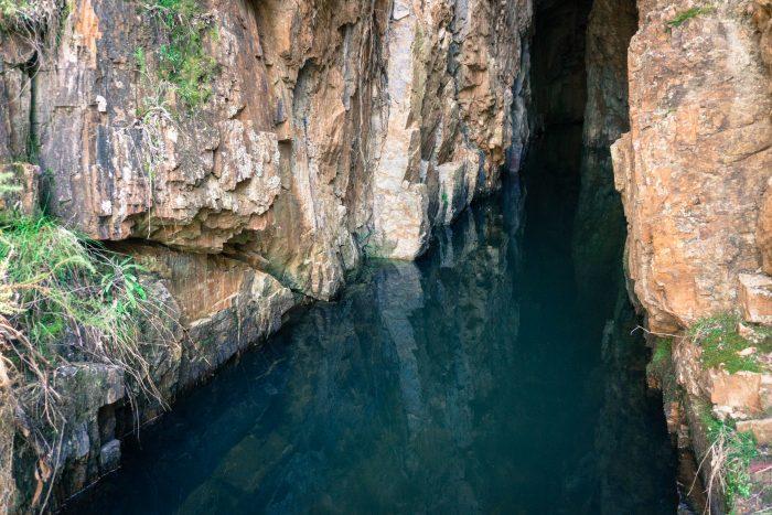Lerderderg River tunnel inside 3