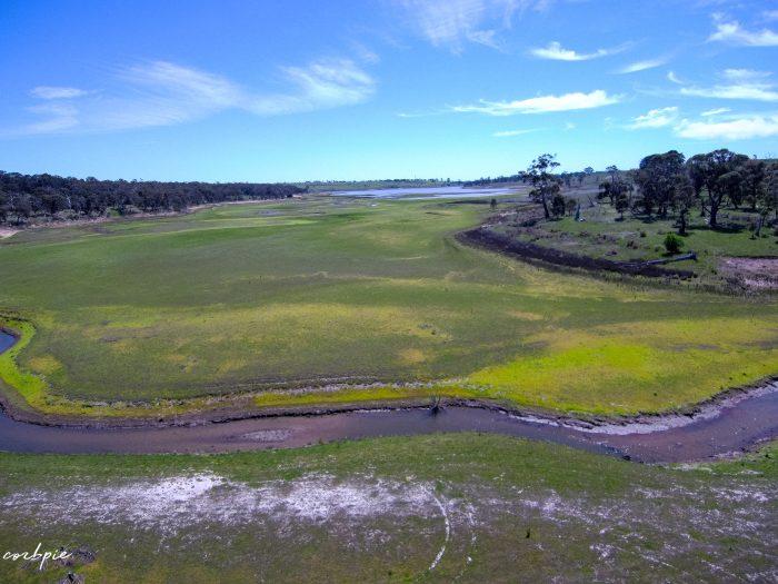malmsbury reservoir drone dry 11