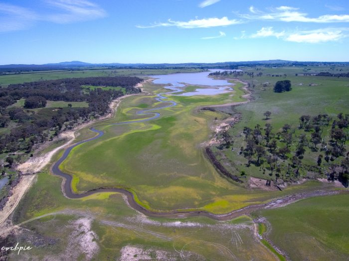malmsbury reservoir drone dry 3