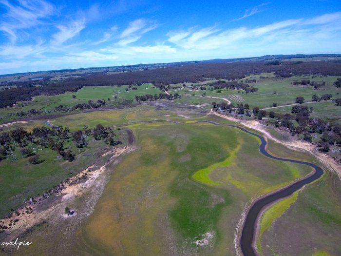 malmsbury reservoir drone dry 9
