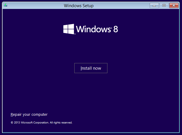 Windows 8.1 Vultr ISO install 2
